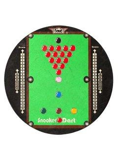 "Bulls GAME BOARD ""SNOOKER"" Dartboard"