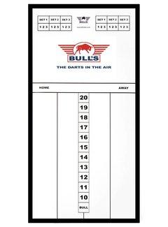 Bulls GLASS Basic SCOREBOARD - 60 x 30cm