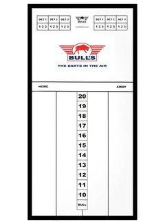 Bulls Styreen Scoreboard Basic 60x30