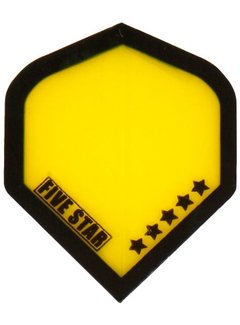 "Bulls FIVE-STAR Flight ""Transp.Yellow Black Border"""