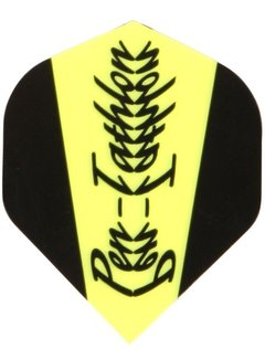 McKicks Pentathlon Flight Std. - Fluor Yellow Scroll