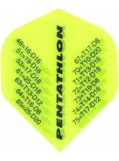 McKicks Pentathlon Flight Std. - Checkout Fluor Yellow