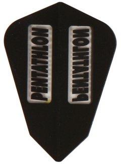 McKicks Pentathlon Transp. Flight Fantail - Black