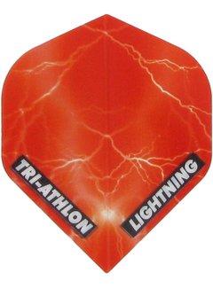 McKicks Tri-athlon Lightning Flight - Clear Red