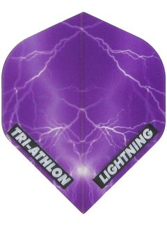McKicks Tri-athlon Lightning Flight - Clear Purple