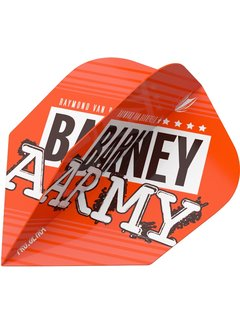 Target Barney Army Pro Ultra Orange Std.6 Flight