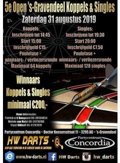 5e Open 's Gravendeel Koppels & Singles