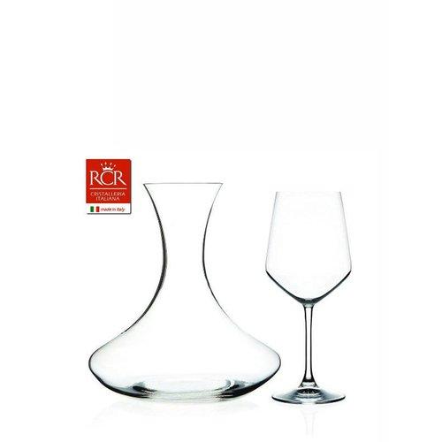 RCR glaswerk Wijnproefset (2 glazen en karaf) ARIA
