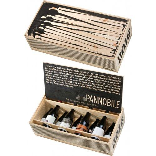 Schatzkiste / Kist met 9 flessen Pannobile 2016 (zeer beperkt!)