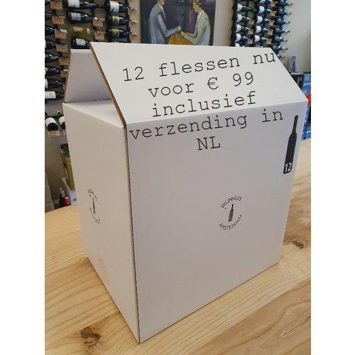 Assortimentsdoos witte wijn (12 flessen)