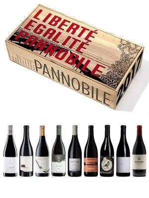 Kist met 9 flessen Pannobile 2017 (zeer beperkt!)