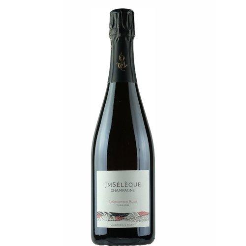 Jean Marc Selélèque Champagne extra brut Rosé Solessence