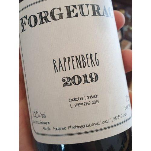 Forgeurac Weissburgunder Rappenberg Badischer Landwein 2019