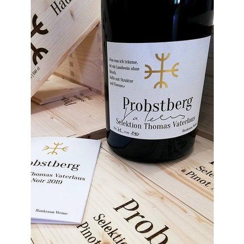 Hauksson Weine Pinot Noir Probstberg Selection Thomas Vaterlaus 2019