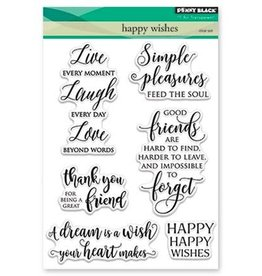 penny black Penny Black Clear stamps Happy wishes 30-419