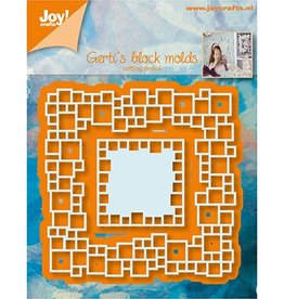 Joy Craft Joy Crafts snijmal Gerti's Blockmolds 6002/1046