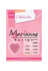 Marianne Design Marianne Design Collectable Candy Hearts NL tekstCOL1306