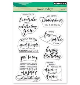 Penny Black Clearstamps Smile Today 30-461