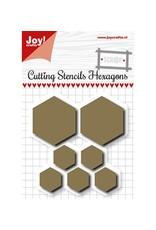 Joy Craft Joy Crafts scrap Snijmal Hexagons 6002/1108