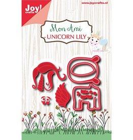 Joy Craft Joy Crats Snijmal Mon Ami Unicorn Lily 6002/1079