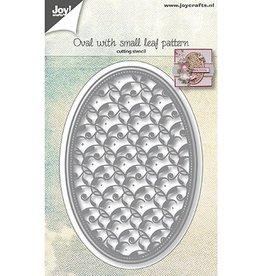 Joy Craft Joy Crats Snijmal Ovaal met klein bladpatroon 6002/1073