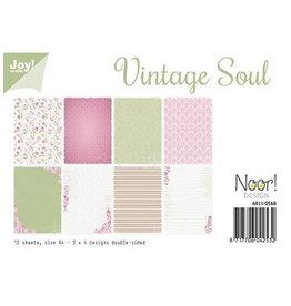 Joy Noor papierset Joy Crafts papierset Vintage Soul 6011/0568