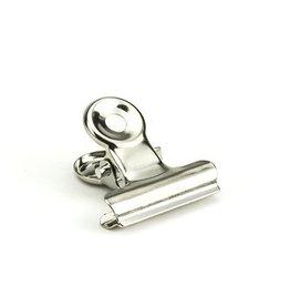 Kippers Bulldog clip 19mm Zilver (10 stuks)