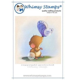 Whimpsy Stamps Mouse and Butterfly LH115
