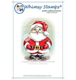 Whimsy Stamps Jolly Little Santa C1054