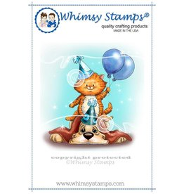 Wimsy Stamps Whimsy Stamps Birthday Pile up C1074