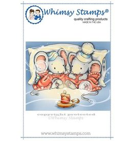 Whimpsy Stamps Cuddle Mice C1265