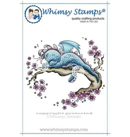 Wimsy Stamps Whimsy Stamps Dreamy dragon SZWS143