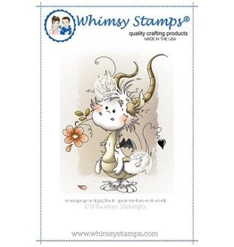 Whimsy Stamps Whimsy Stamps Penguin Birthday C1280