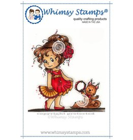 Wimsy Stamps Whimsy Stamps Loli's dance SZWS205