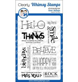 Wimsy Stamps Whimsy Stamps Bold Statements CWSN170
