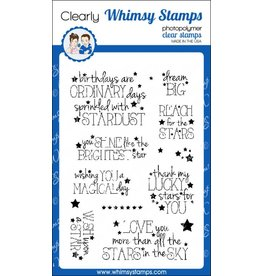 Whimsy Stamps Shine Bright CWSD204