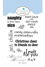 Elizabeth Craft Designs Elizabeth Craft Designs Holiday cheer clearstamps CS060