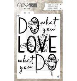 COOSA Crafts Clear Stamps Coosa crafts clearstamps A6 - Do Love A6 (Eng)