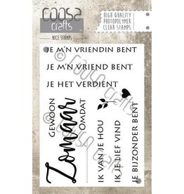 COOSA Crafts Clear Stamps COOSA Crafts clearstamps A7 - Zomaar A7 (NL)