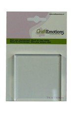 Craft Emotions CraftEmotions blok voor clearstempel 74x74mm - 8mm