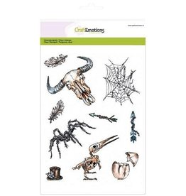 Craft Emotions CraftEmotions clearstamp RusticArt A5 - Weird Science 1
