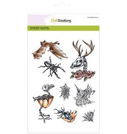 Craft Emotions CraftEmotions clearstamp RusticArt A5 - Weird Science 2