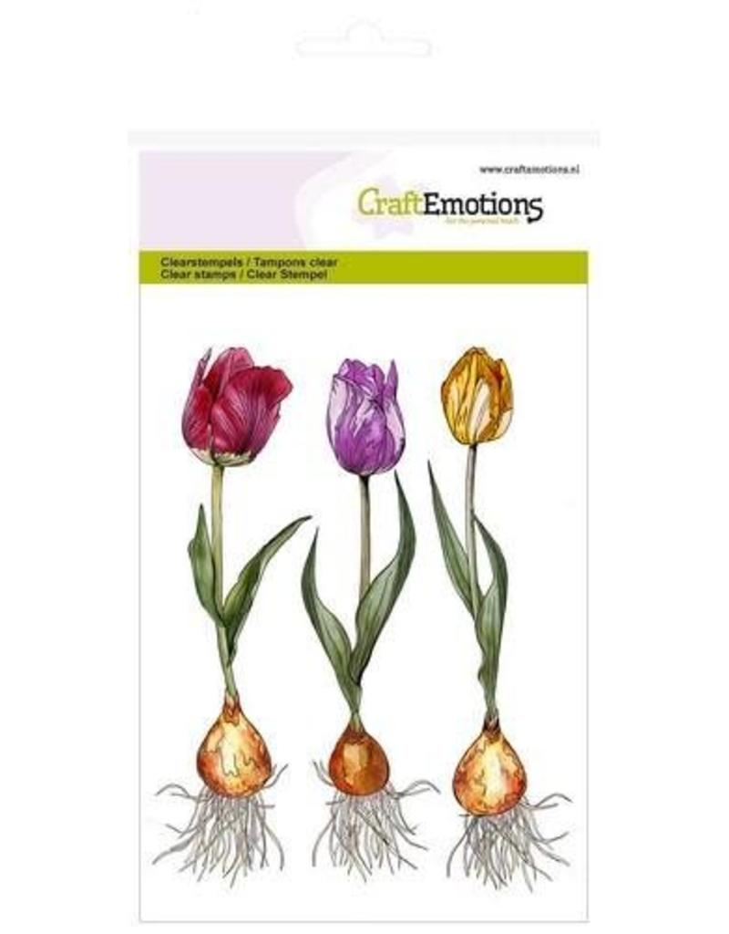 Craft Emotions CraftEmotions clearstamps A6 - tulp