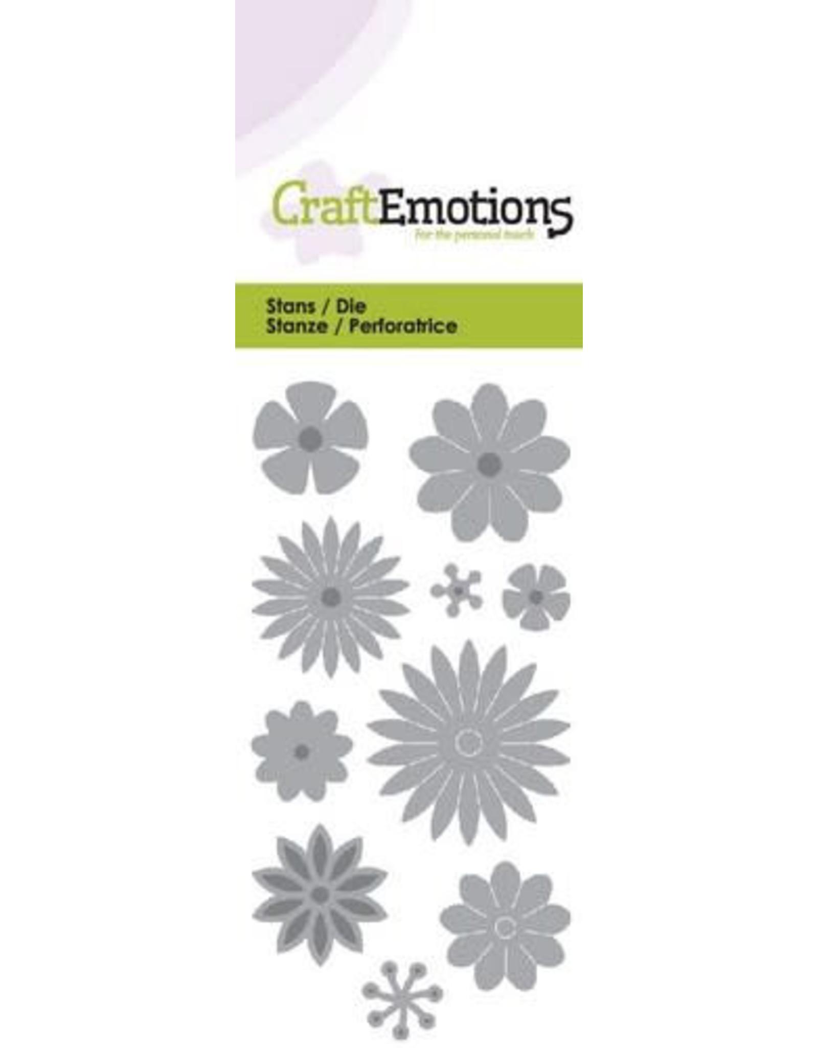 Craft Emotions CraftEmotions Die - bloemenmix