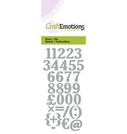 Craft Emotions CraftEmotions Die - cijfers