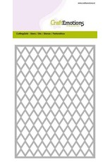 Craft Emotions CraftEmotions Die - Cutting Grid - ruit