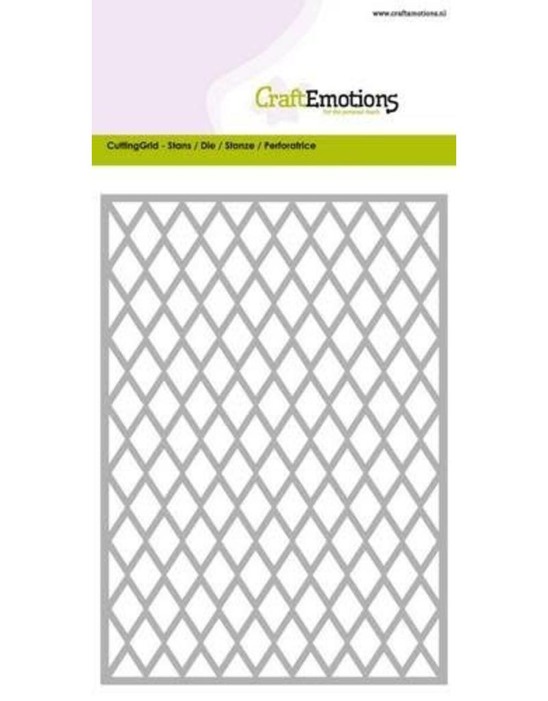 Craft Emotions CraftEmotions Die - Cutting Grid - ruit