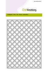 Craft Emotions CraftEmotions Die - Cutting Grid - ruit scallop