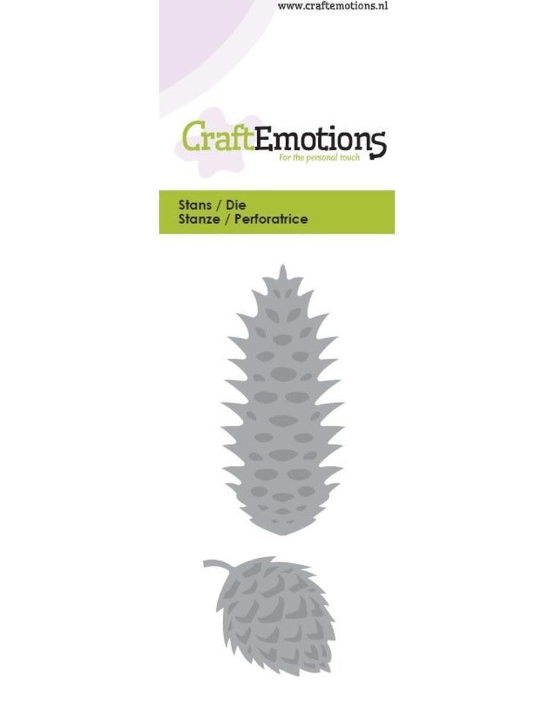 Craft Emotions CraftEmotions Die - dennenappel