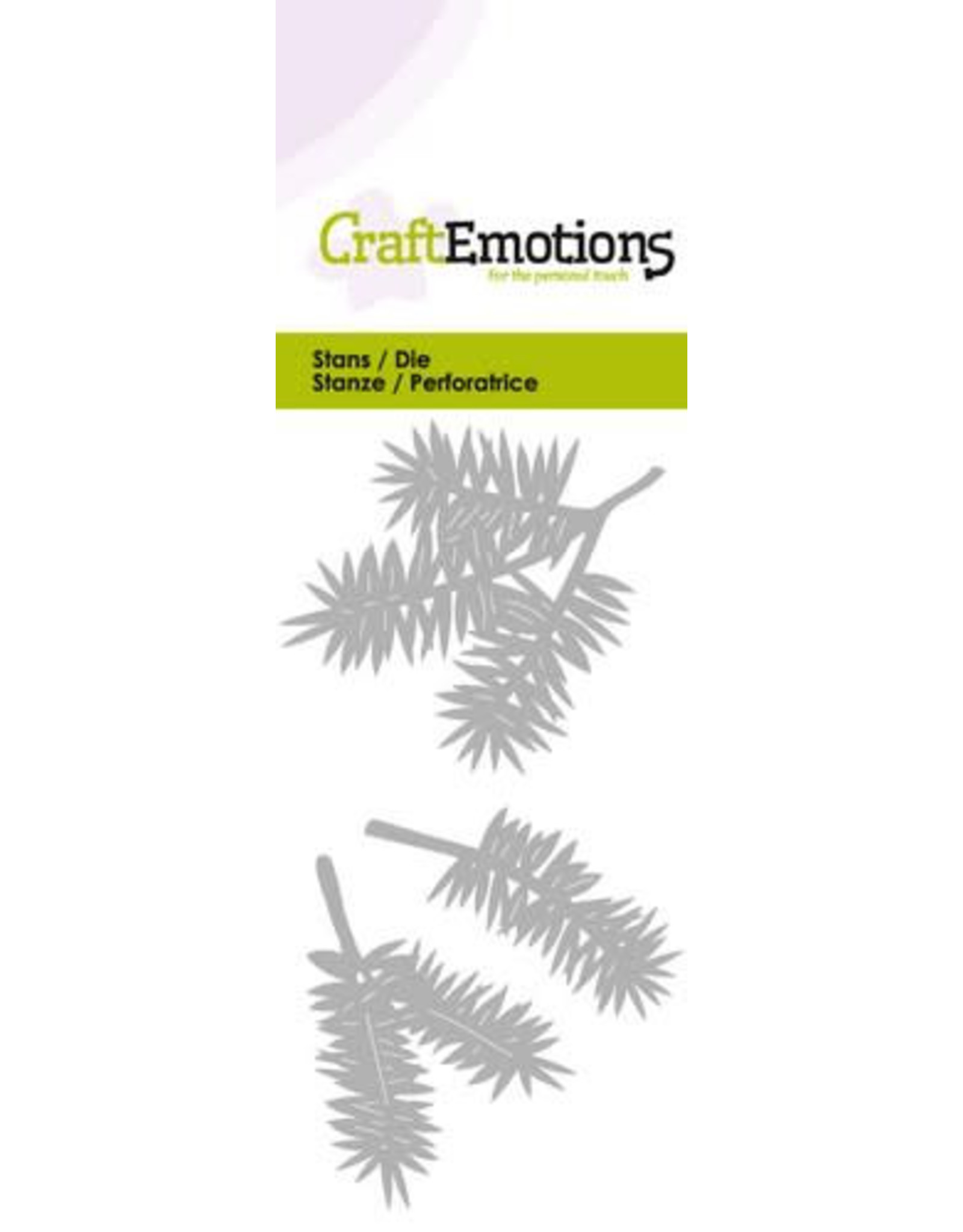 Craft Emotions CraftEmotions Die - dennentakken